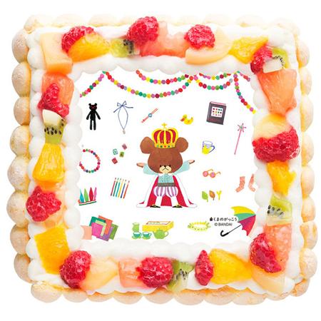 くまの学校 写真ケーキ
