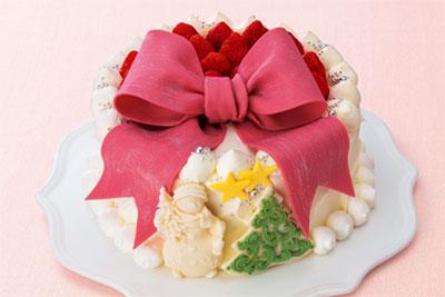2017クリスマスケーキ 人気 コラボ