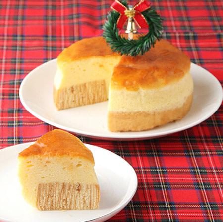 チーズケーキ クリスマスケーキ