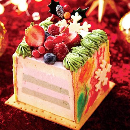 2017クリスマスケーキ かわいい