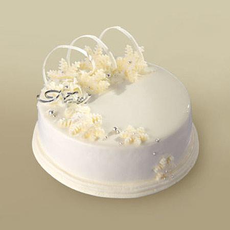 銀座 クリスマスケーキ 真っ白