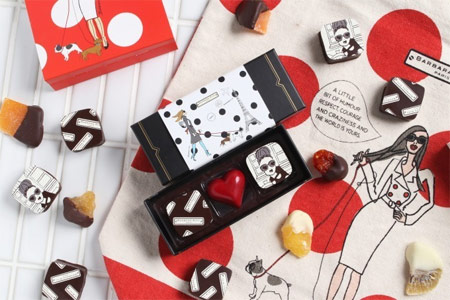 ブランドコラボ かわいいバレンタインチョコレート