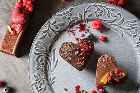 2018バレンタイン チョコレートケーキ