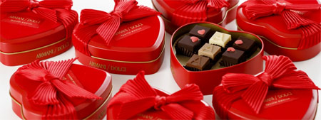 ファッションブランドのバレンタインチョコレート