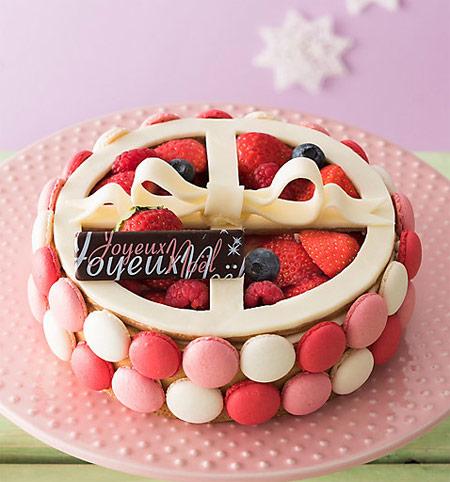 2018クリスマスケーキ かわいい