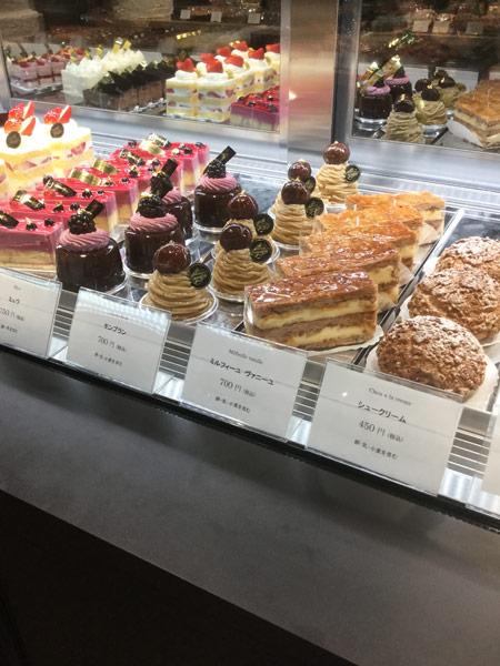 2018銀座新しくできたケーキ屋